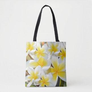 Frangipani-Blumenstrauß, volle Tasche