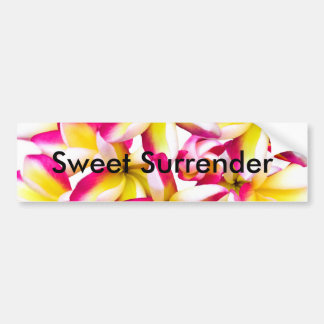 Frangipanitempel-Blume Autoaufkleber