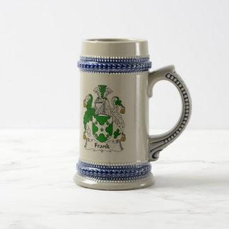 Frank-Wappen Stein - Familienwappen Bierkrug