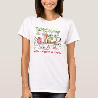 Franken Veggies-Millionen gegen Monsanto T-Shirt