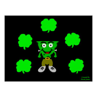 FrankenCheese St Patrick Tagesplakat Poster