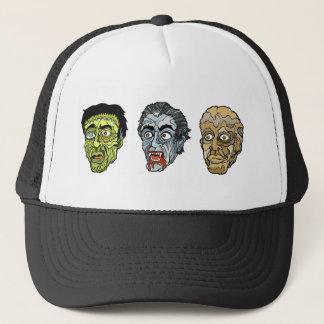 Frankenstein Dracula die Mama Truckerkappe