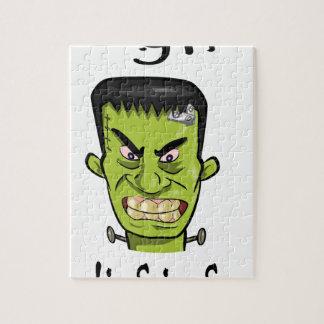 Frankenstein Kürbisgewürz Puzzle