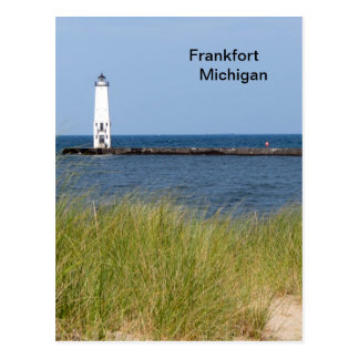 Frankfort Michigan Postkarte