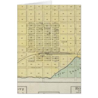 Frankfort, Zuhause-Stadt, Bremen und Herkimer, Karte