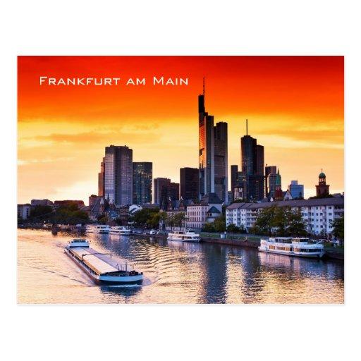 Frankfurt 001D Postkarte