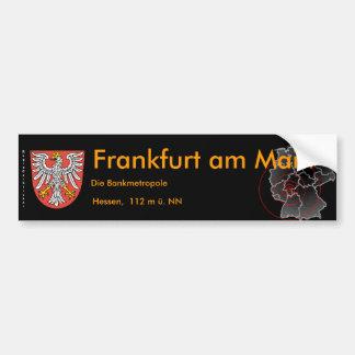 Frankfurt am Main 4 Autoaufkleber