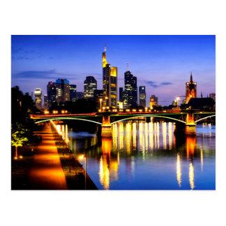 Frankfurt am Main Postkarte