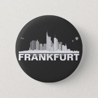 Frankfurt City Skyline Button
