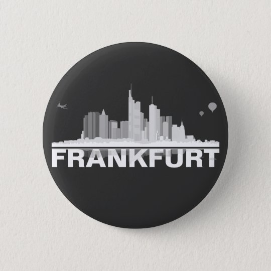 Frankfurt City Skyline Button
