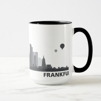 Frankfurt City Skyline Tasse / Becher