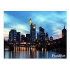 Frankfurt, Deutschland Postkarte