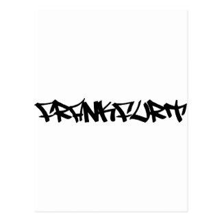 Frankfurt-Ikone Postkarte