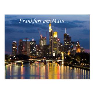Frankfurt Postkarte