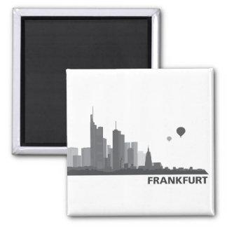 Frankfurt Skyline Kühlschrank Magnet