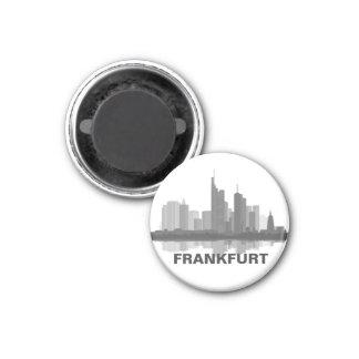 Frankfurt Skyline Kühlschrank Magnet Kühlschrankmagnet
