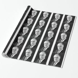 Franklin Delano Roosevelt Geschenkpapier