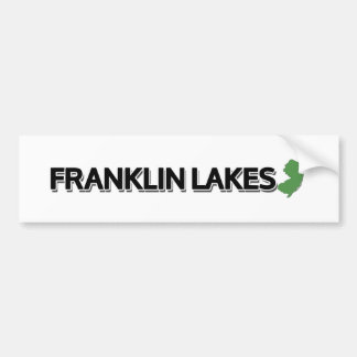 Franklin Seen, New-Jersey Autoaufkleber