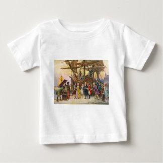 Franklins Rückkehr nach Philadelphia durch Jean Baby T-shirt