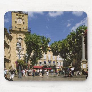 Frankreich, Aix-en-Provence, La Place de la Maire Mousepads