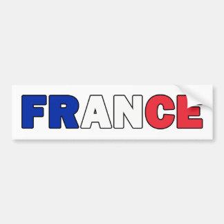 Frankreich-Autoaufkleber Autoaufkleber