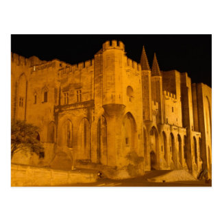 Frankreich, Avignon, Provence, päpstlicher Palast Postkarte