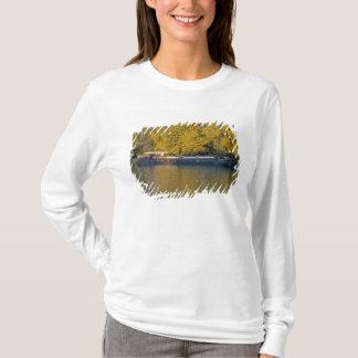 Frankreich, die Rhone, nahe Avignon, Lastkahn T-Shirt