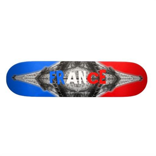 Frankreich-Eiffelturm-Paris-Skateboard Individuelles Deck