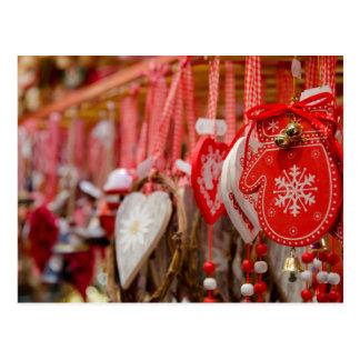 Frankreich, Elsass, Colmar. Weihnachtsmarkt Postkarte