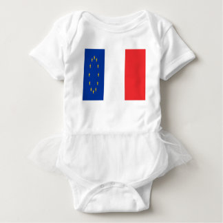 Frankreich Europa Baby Strampler