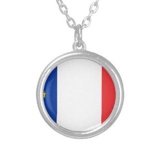Frankreich Europa Versilberte Kette