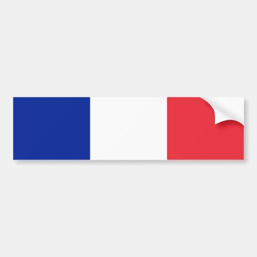 Frankreich-Flagge Autoaufkleber