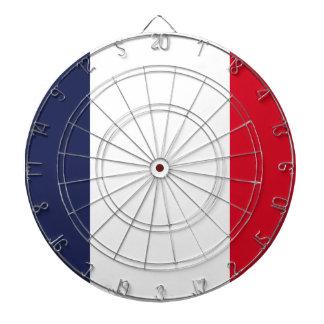 Frankreich-Flagge Dartscheibe