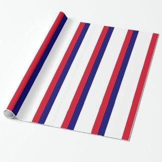 Frankreich-Flagge Geschenkpapier