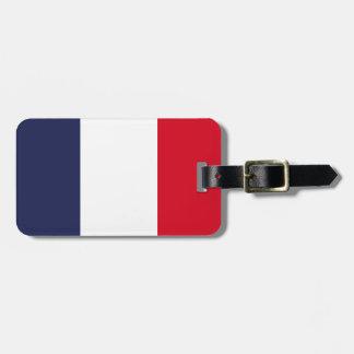 Frankreich-Flagge Kofferanhänger
