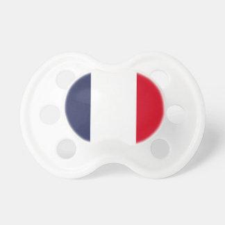 Frankreich-Flagge Schnuller