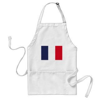 Frankreich-Flagge Schürze