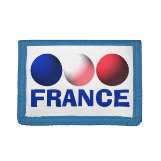 Frankreich-Flaggen-blaue, weiße und rote Bereiche