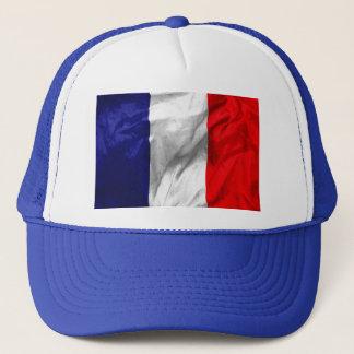 Frankreich-Flaggen-Hut Truckerkappe