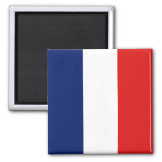 Frankreich-Flaggen-Magnet Quadratischer Magnet