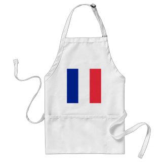 Frankreich-Flaggenentwurf Schürze