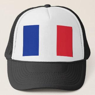 Frankreich-Flaggenhut Truckerkappe