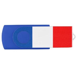 Frankreich-Flaggenqualität USB Stick