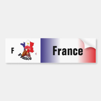 Frankreich - France Autoaufkleber