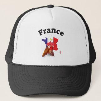 Frankreich France Francia Cap Truckerkappe