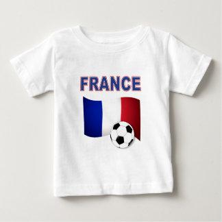 Frankreich-Fußballfußball-Weltmeisterschaft 2010 Baby T-shirt
