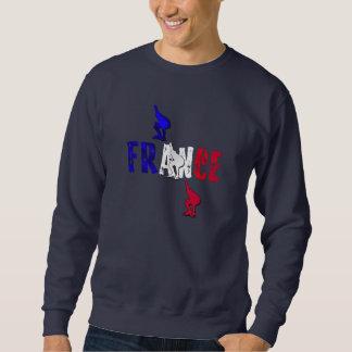 Frankreich-Geschwindigkeits-Skatensweatshirt für Sweatshirt