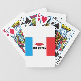 Frankreich Herr-königlich Bicycle Spielkarten