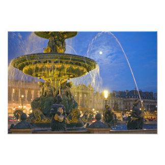 Frankreich, Ile de France, Paris, Concorde-Platz, Fotografischer Druck