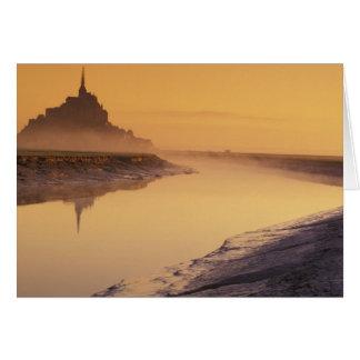FRANKREICH, Normandie Mont St. Michel. Karte